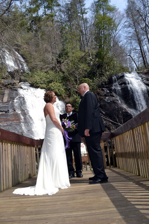 Waterfall Wedding Elopement